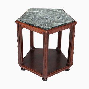Dutch Art Deco Mahogany Coffee Table by Max Coini, 1920s