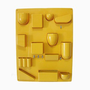 Storage da parete Uten.Silo vintage giallo di Ingo Maurer