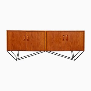 Credenza minimalista vintage, anni '60