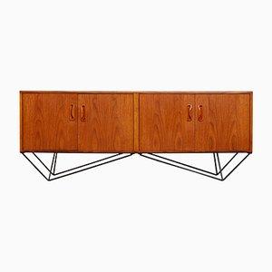Vintage Minimalist Sideboard, 1960s