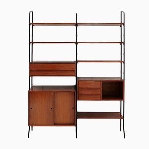 Mid-Century Italian Wall Unit from Amma di Torino, 1950s