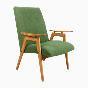 Type 6950 Green Armchairs by Jaroslav Smidek for Jitona, 1965, Set of 2