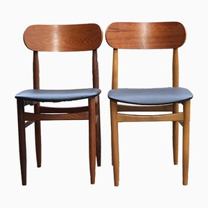 Scandinavian Dining Chairs from GESSEF, 1950s, Set of 2