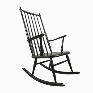 Vintage Scandinavian Rocking Chair, 1950s