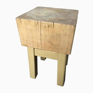 Vintage French Butcher's Table, 1930s