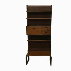 Mid-Century Free-Standing Wall Unit by Poul Cadovius for Cado, 1960s