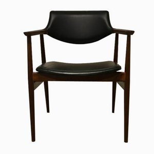 Mid-Century Rosewood Armchair by Svend Åge Eriksen for Glostrup, 1950s