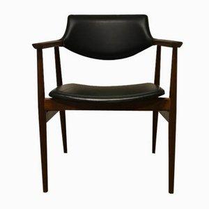 Mid-Century Stuhl aus Palisander von Svend Åge Eriksen für Glostrup, 1950er