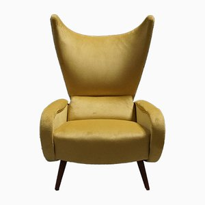 Italienischer Mid-Century Sessel, 1960er