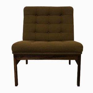Moduline Rosewood Lounge Chair by Ole Gjerløv-Knudsen for France & Søn, 1960s