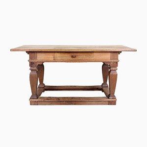 Consolle antica in legno di quercia intagliato