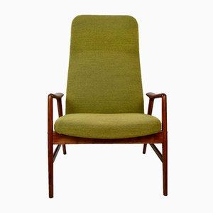Vintage Highback Lounge Chair by Alf Svensson & Bra Bohag for Ljungs Industrier AB