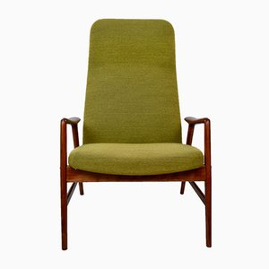 Vintage Model Contour 7 Highback Lounge Chair by Alf Svensson & Bra Bohag for Ljungs Industrier AB