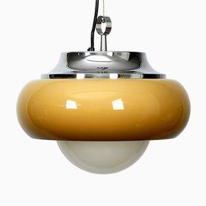 Lámpara colgante de metal, plástico y vidrio de iGuzzini, años 70