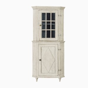 Antique Swedish Corner Cabinet, 1820s