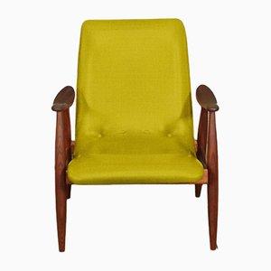 Personalisierbarer Armlehnstuhl mit niedriger Rückenlehne von Louis van Teeffelen