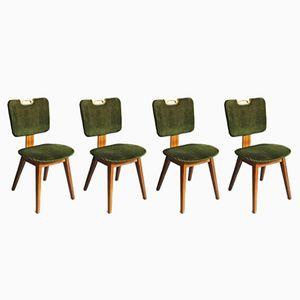Chaises de Salle à Manger Vintage, 1960s, Set de 4