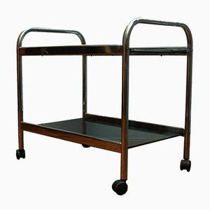 Vintage Glass Trolley