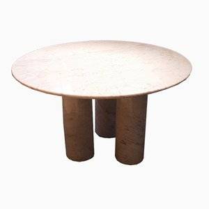 Table Il Colonnato en Marbre par Mario Bellini pour Cassina, 1977