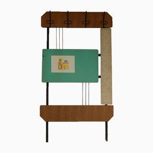 Vintage Wand-Garderobe, 1950er