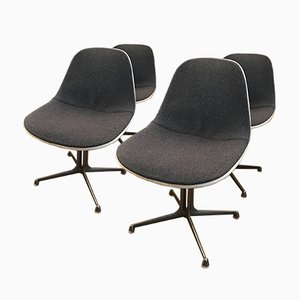 Vintage Chairs by Charles & Ray Eames for Herman Miller, 1975, Set of 4