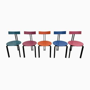Zeta Stühle von Harvink, 1980er, 5er Set