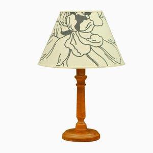 Lámpara de mesa suiza vintage
