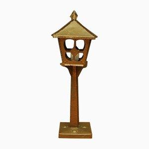 Lámpara de mesa vintage de cobre