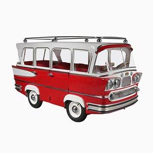 Autobús de carrusel vintage de Karel Baeyens para l'Autopede, 1955