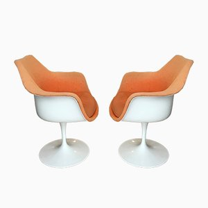Poltrone di Eero Saarinen per Knoll International, anni '70, set di 2