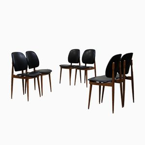 Pegasus Chairs by Pierre Guariche for Baumann, 1960s, Set of 6