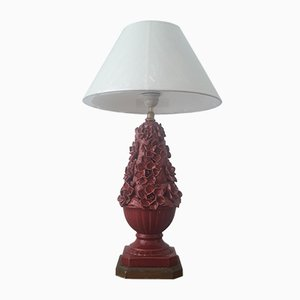 Spanische Vintage Tischlampe aus Keramik