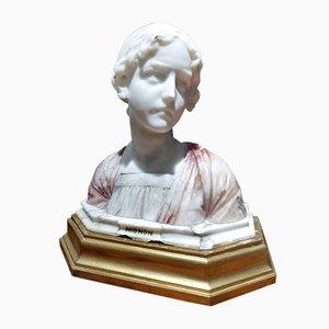 Busto Mignon Art Nouveau de Giuseppe Bessi, años 20