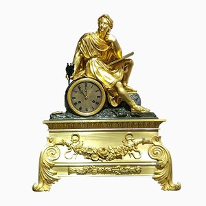 French Pendulum Table Clock by Honore Pons, 1827