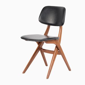 Chaise de Salon Vintage par Louis van Teeffelen pour WeBe, Pays-Bas, 1960s