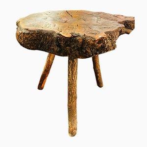 Mesa vintage de madera maciza