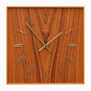 Mid-Century Wall Clock by Junghans