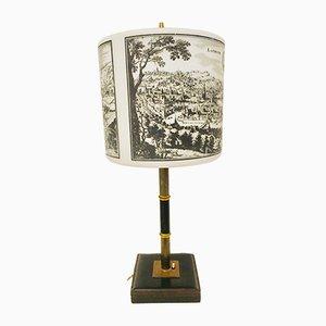 Belgische Vintage Tischlampe, 1950er