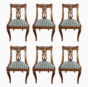 Antique French Chairs, 1870s, Set of 6