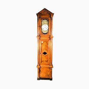 Horloge Pendulaire de Style Empire en Noyer, 1830s