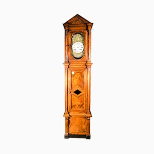 Walnut Empire Style Pendulum Clock, 1830s