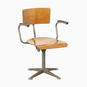 Industrieller Vintage Drehstuhl von Friso Kramer für Ahrend De Cirkel