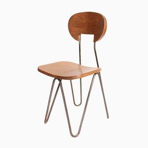 Modell W Stuhl von Janello Cesar für AA Raoul Guys, 1947