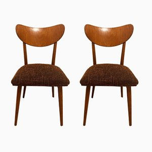 Vintage Dining Chairs from TON, 1960s, Set of 2