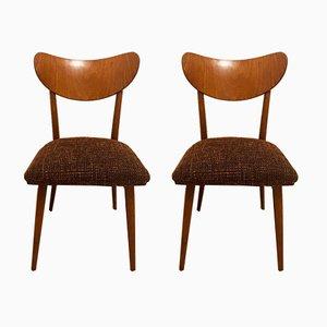 Vintage Esszimmerstühle von TON, 1960er, 2er Set