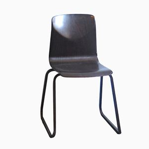 Molded Plywood & Metal Stackable Chair by Elmar Flötotto, 1960s