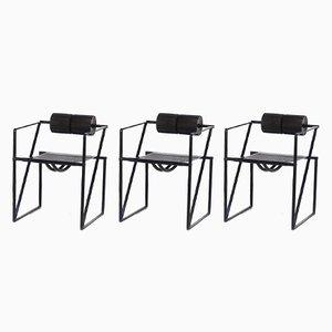 Seconda 602 Armlehnstühle von Mario Botta für Alias, 1982, 3er Set