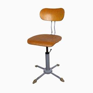 Chaise d'Atelier Pivotante de Polstergleich, 1940s