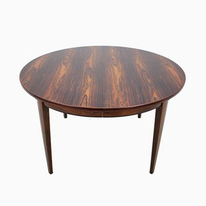 Danish Rosewood Extendable Table from Omann Jun, 1960s
