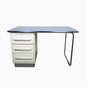 Schreibtisch aus Metall von Schmitz Stahlmöbel, 1950er